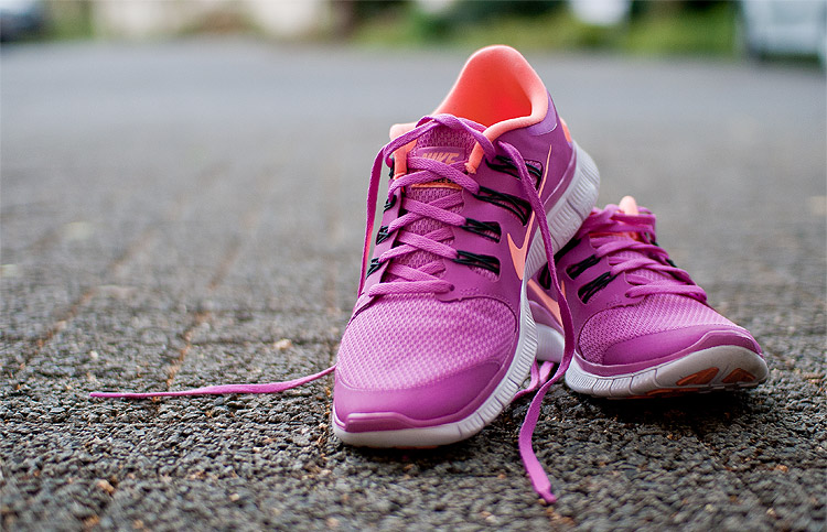 Nike FREE pink-orange