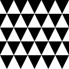 Dreiecke Muster