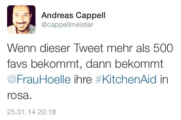 KitchenAidTwitter