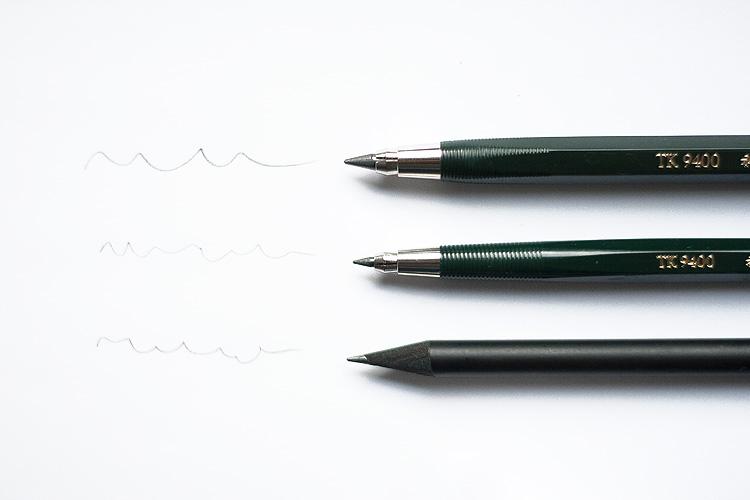 Lettering Bleistifte