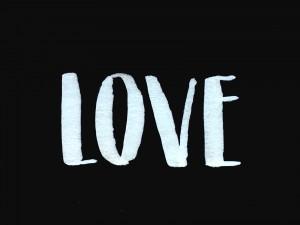 BrushLettering_LOVE_SW_FrauHoelle