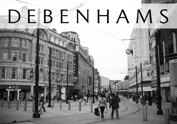 Debenhams Store Manchester