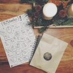 Mit 24 Sketchnotes bis Weihnachten! #24doodles Freebie (inkl. Gewinnspiel)
