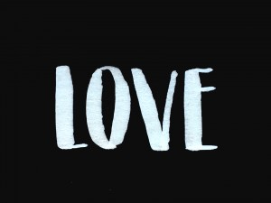 BrushLettering_LOVE_SW_FrauHoelle