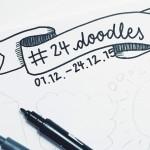 Der #24doodles Adventskalender 2015 (inkl. Gewinnspiel)