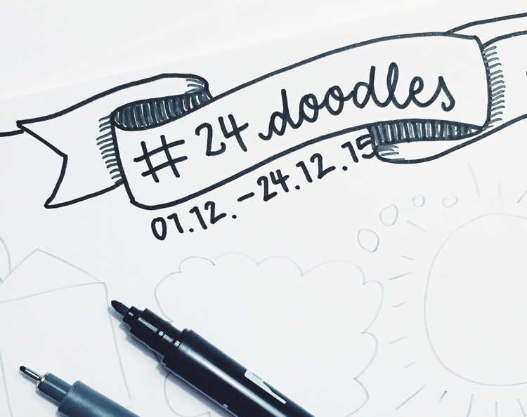 #24doodles work in progress