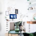 Mein neues Home Office – Ordnung und Dekoration (Teil 1)