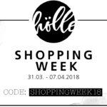 "Frohe Ostern mit der ""Frau Hölle Shopping-Week 2018"" + Oster-Freebie"