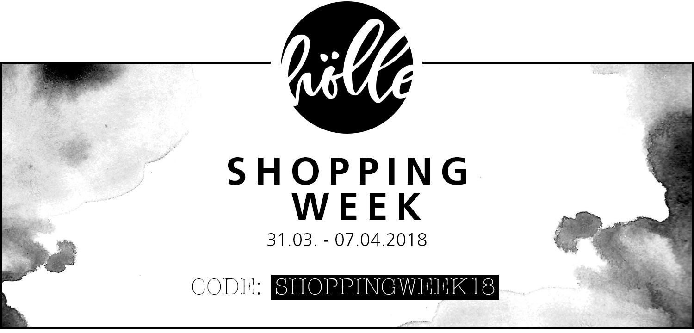 "Frohe Ostern mit der ""Frau Hölle Shopping-Week 2018"" + Oster-Freebie ..."