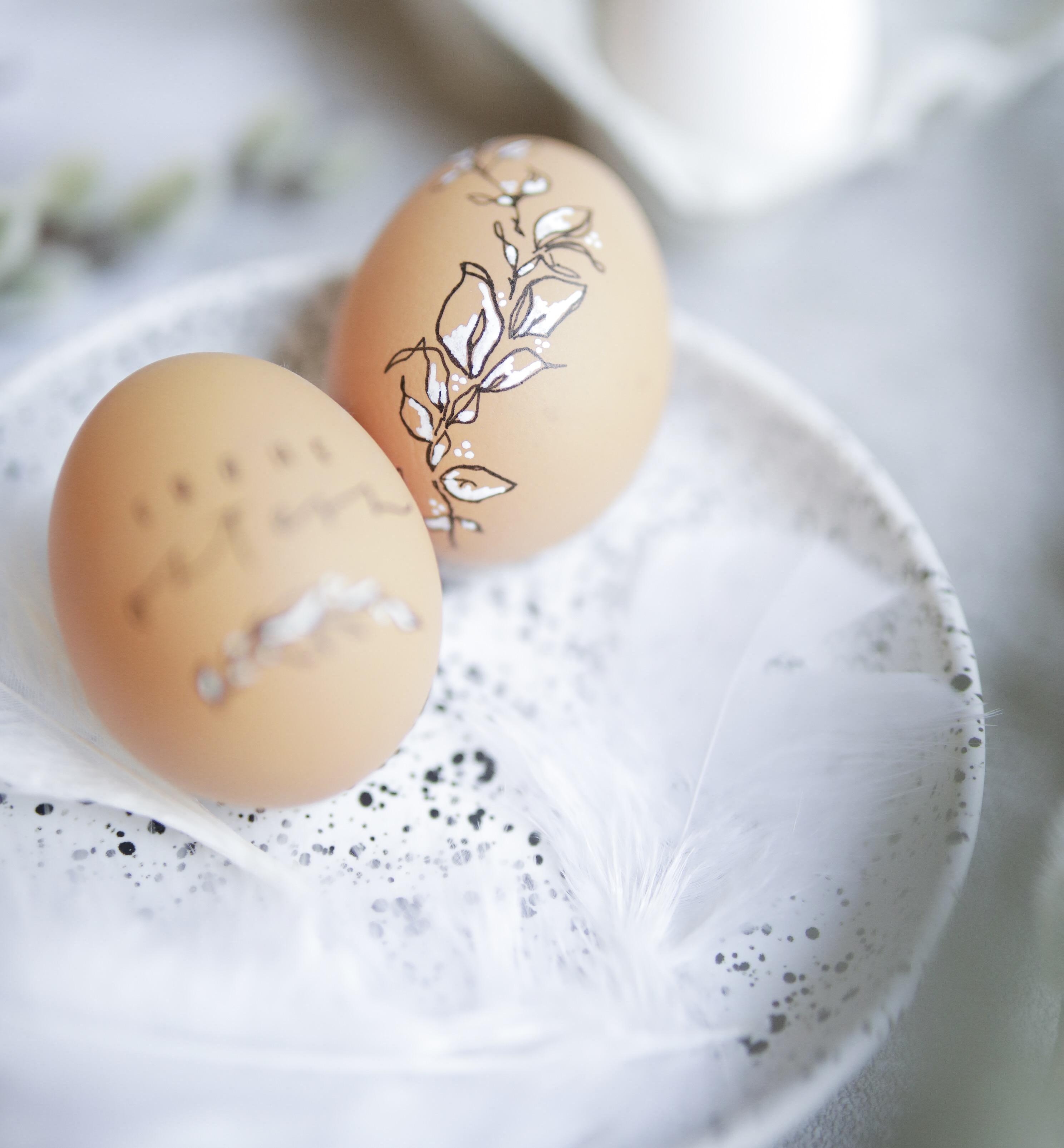 ostern mit vielen eiern
