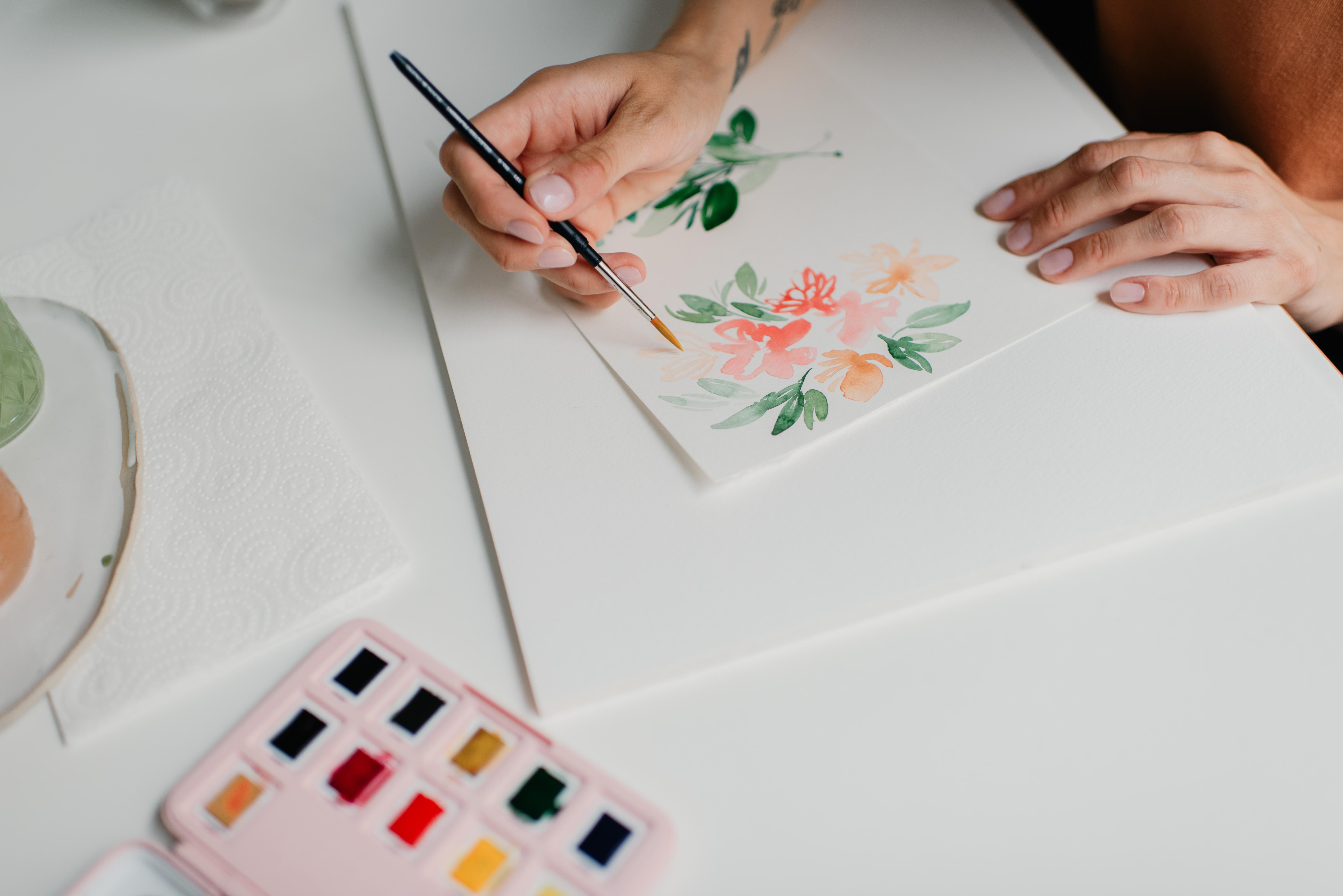 Van Gogh Pocket Box Frau Holle 12 Farben 10 Grundfarben 2