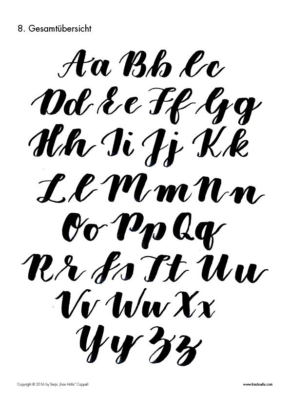 letterattack brush lettering guide